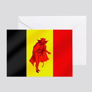 Belgian Red Devils Greeting Cards