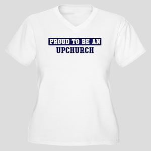 Proud to be Upchurch Women's Plus Size V-Neck T-Sh