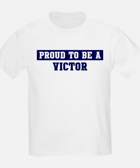 Proud to be Victor T-Shirt