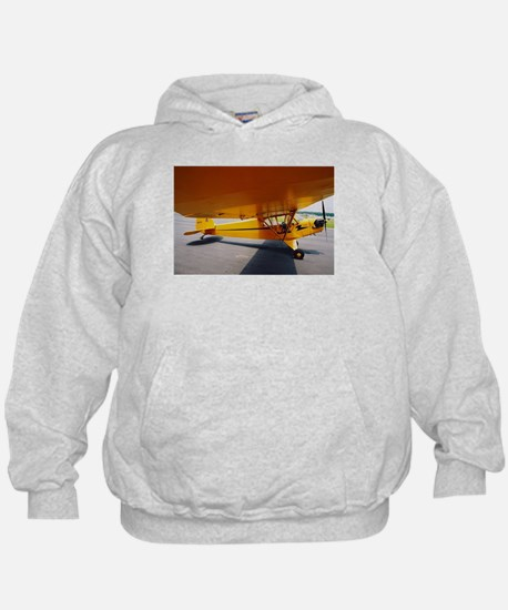 Piper Cub From the Side Hoodie