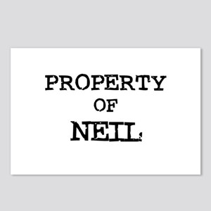 Property of Neil Postcards (Package of 8)