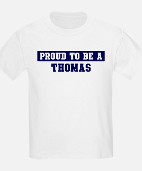 Proud to be Thomas T-Shirt