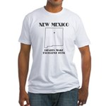 Funny New Mexico Motto Fitted T-Shirt