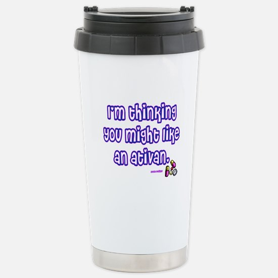 Ativan Stainless Steel Travel Mug