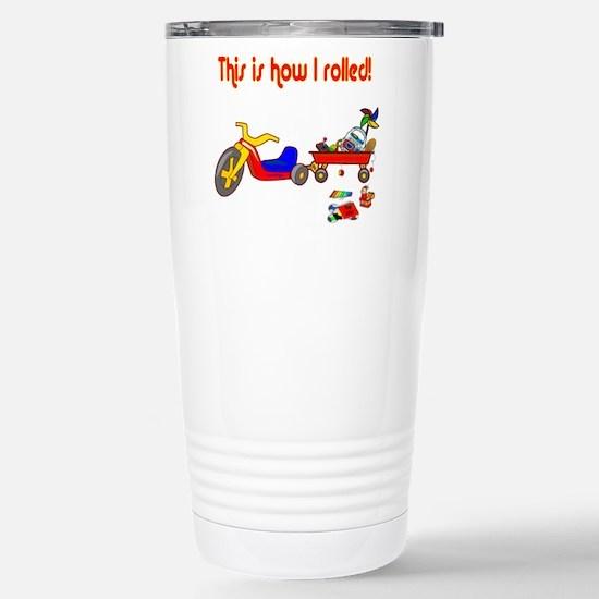 Scott Designs Stainless Steel Travel Mug