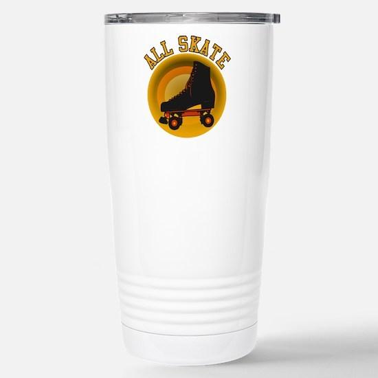 Scott Designs All Skate Stainless Steel Travel Mug