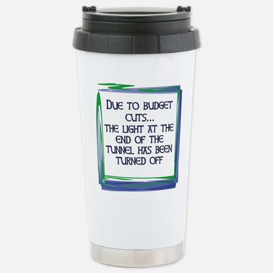 BUDGET CUTS Stainless Steel Travel Mug