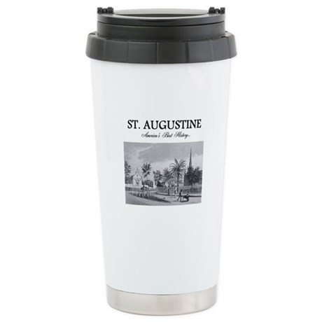 St. Augustine Americasb Stainless Steel Travel Mug