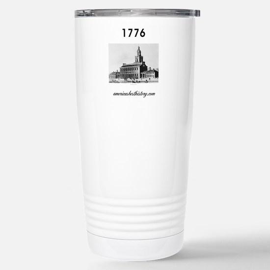 ABH Timeline 1776 Stainless Steel Travel Mug