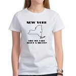 Funny New York Motto Women's T-Shirt