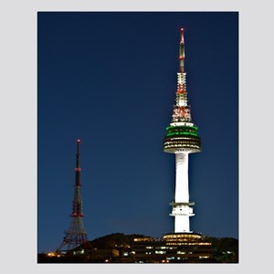 Seoul Tower Small Poster