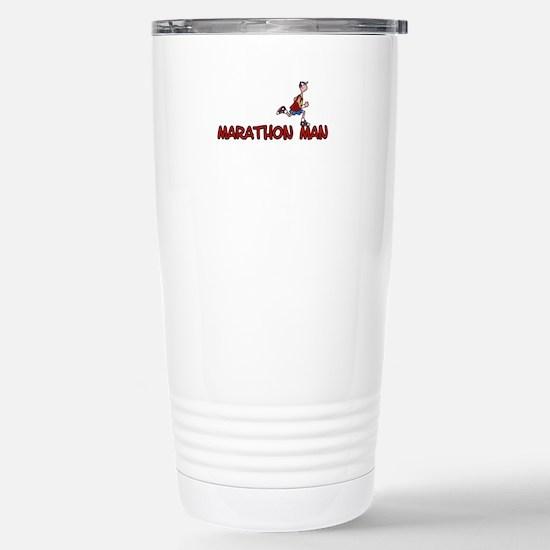 Marathon man Stainless Steel Travel Mug