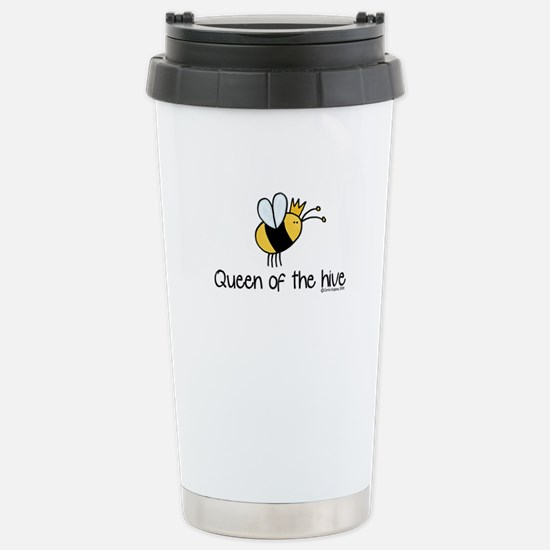 Queen of the hive Stainless Steel Travel Mug