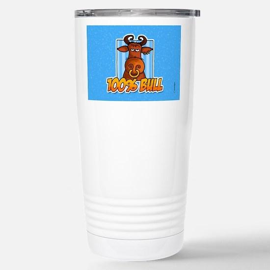 100% bull Stainless Steel Travel Mug