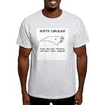 Funny North Carolina Motto Ash Grey T-Shirt