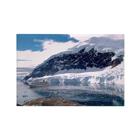 """Antarctica 2"" Rectangle Magnet (100 pack)"