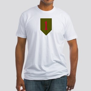 Fitted T-Shirt - Military 1st Infantry