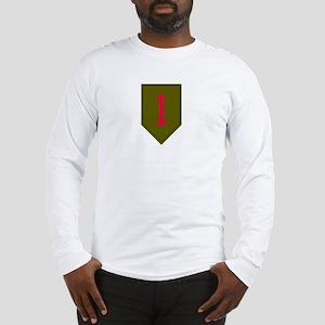 Long Sleeve T-Shirt- Military 1st Infantry