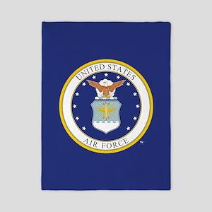 Air Force USAF Emblem Twin Duvet Cover