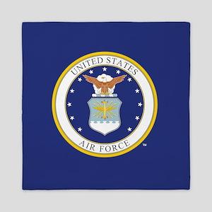 Air Force USAF Emblem Queen Duvet