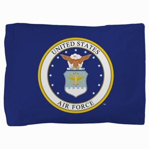 Air Force USAF Emblem Pillow Sham