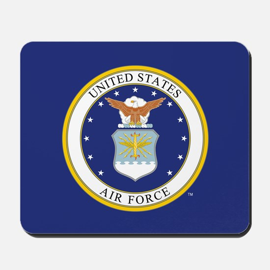 Air Force USAF Emblem Mousepad