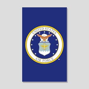 Air Force USAF Emblem 20x12 Wall Decal