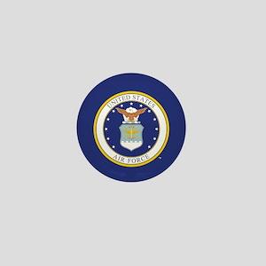 Air Force USAF Emblem Mini Button