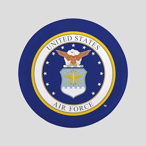 Air Force USAF Emblem Button