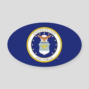 Air Force USAF Emblem Oval Car Magnet