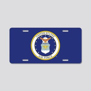 Air Force USAF Emblem Aluminum License Plate