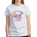 Liangping China Map Women's T-Shirt