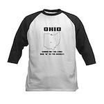 Funny Ohio Motto Kids Baseball Jersey