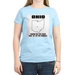 Funny Ohio Motto Women's Pink T-Shirt