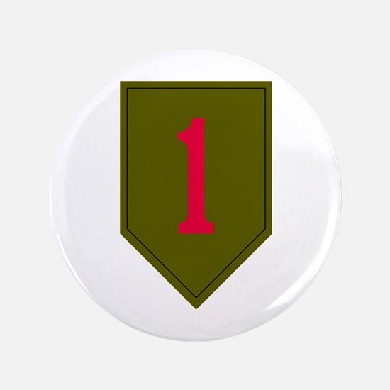 """1st Infantry 3.5"""" Button"""