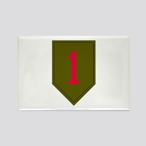 1st Infantry Rectangle Magnet