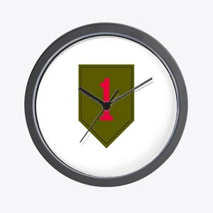 1st Infantry Wall Clock