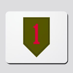 1st Infantry Mousepad