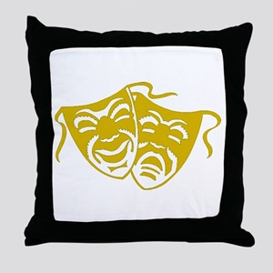 Comedy or Tragedy 5 Throw Pillow