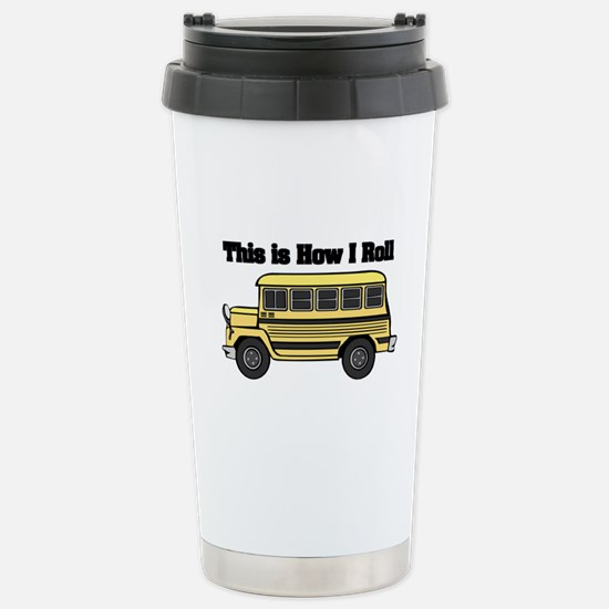 How I Roll (Short Yellow Scho Stainless Steel Trav