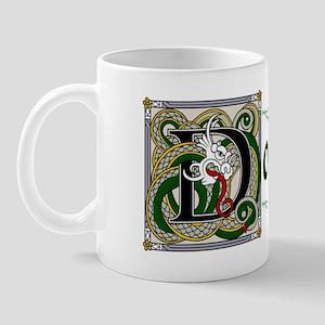 Donahue Celtic Dragon Mug