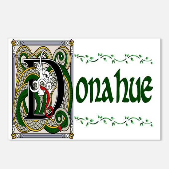 Donahue Celtic Dragon Postcards (Package of 8)