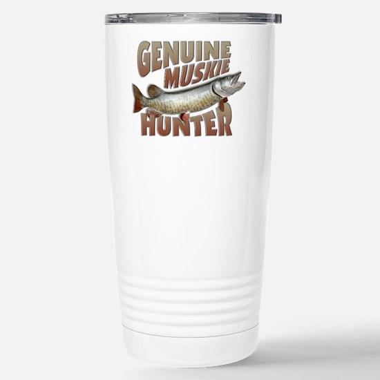 Muskie Hunter Stainless Steel Travel Mug
