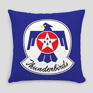 USAF Thunderbirds Emblem Everyday Pillow