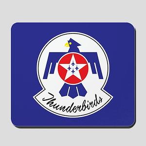 USAF Thunderbirds Emblem Mousepad