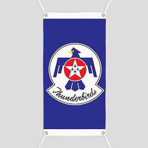USAF Thunderbirds Emblem Banner