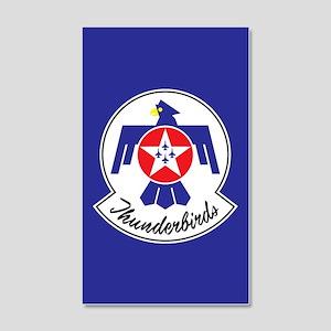 USAF Thunderbirds Emblem 20x12 Wall Decal