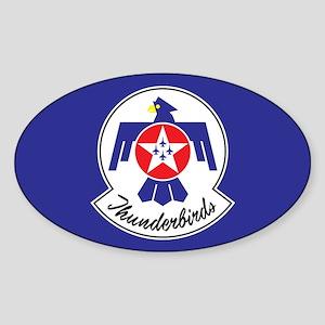 USAF Thunderbirds Emblem Sticker (Oval)