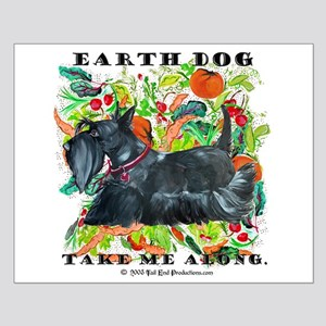 Eco Friendly Scottish Terrier Small Poster