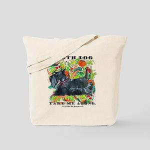 Eco Friendly Scottish Terrier Tote Bag
